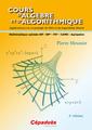 Couverture de l'ouvrage Cours d'algèbre et d'algorithmique