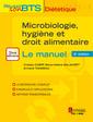 Couverture de l'ouvrage Microbiologie, hygiène et droit alimentaire - Le manuel (2° Éd.)