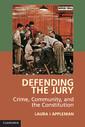 Couverture de l'ouvrage Defending the Jury