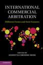 Couverture de l'ouvrage International Commercial Arbitration