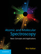 Couverture de l'ouvrage Atomic and Molecular Spectroscopy