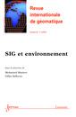 Couverture de l'ouvrage Revue internationale de géomatique Volume 24 N° 4/Octobre-Décembre 2014