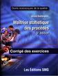 Couverture de l'ouvrage Maîtrise statistique des procédés