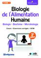 Couverture de l'ouvrage Biologie de l'Alimentation Humaine