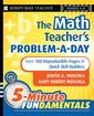 Couverture de l'ouvrage The Math Teacher′s Problem-a-Day, Grades 4-8