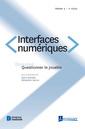 Couverture de l'ouvrage Interfaces numériques Volume 4 N° 1/Janvier-Avril 2015