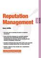 Couverture de l'ouvrage Reputation Management