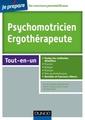 Couverture de l'ouvrage Psychomotricien-ergothérapeute