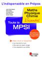 Couverture de l'ouvrage Toute la MPSI
