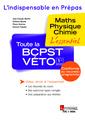 Couverture de l'ouvrage Toute la BCPST-VÉTO 1re année