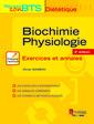 Couverture de l'ouvrage Biochimie-Physiologie - Exercices et annales