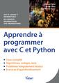 Couverture de l'ouvrage Apprendre à programmer avec C et Python