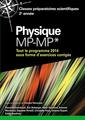 Couverture de l'ouvrage Physique MP-MP*