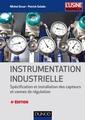 Couverture de l'ouvrage Instrumentation industrielle