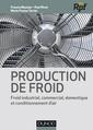 Couverture de l'ouvrage Production de froid