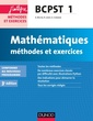 Couverture de l'ouvrage Mathématiques. Méthodes et Exercices BCPST 1re année (3° Éd.)