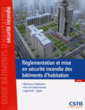 Couverture de l'ouvrage Réglementation et mise en sécurite incendie des bâtiments d'habitation