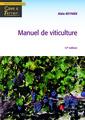Couverture de l'ouvrage Manuel de viticulture