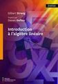 Couverture de l'ouvrage Introduction à l'algèbre linéaire
