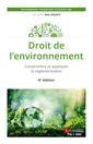 Couverture de l'ouvrage Droit de l'environnement