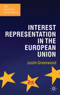 Couverture de l'ouvrage Interest Representation in the European Union