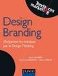 Couverture de l'ouvrage Design branding (Re)penser les marques par le Design Thinking