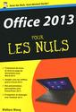 Couverture de l'ouvrage Office 2013 poche pour les nuls