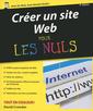 Couverture de l'ouvrage Creer un site web 9ed pour les nuls