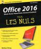 Couverture de l'ouvrage Office 2016 pour les nuls
