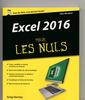 Couverture de l'ouvrage Excel 2016 pour les nuls