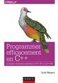 Couverture de l'ouvrage Programmer efficacement en C++
