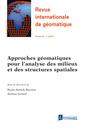 Couverture de l'ouvrage Revue internationale de géomatique Volume 25 N° 4/Octobre-Décembre 2015