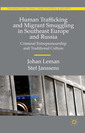 Couverture de l'ouvrage Human Trafficking and Migrant Smuggling in Southeast Europe and Russia