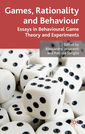 Couverture de l'ouvrage Games, Rationality and Behaviour