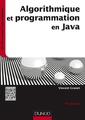 Couverture de l'ouvrage Algorithmique et programmation en Java (4° Éd.)