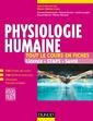 Couverture de l'ouvrage Physiologie humaine. Tout le cours en fiches