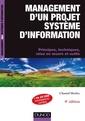 Couverture de l'ouvrage Management d'un projet système d'information