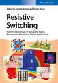 Couverture de l'ouvrage Resistive Switching
