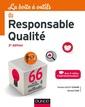 Couverture de l'ouvrage La boîte à outils du responsable qualité (3° Éd.)