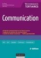 Couverture de l'ouvrage Communication