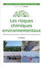 Couverture de l'ouvrage Les risques chimiques environnementaux