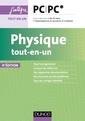 Couverture de l'ouvrage Physique PC-PC* - tout-en-un (4° Éd.)