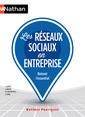 Couverture de l'ouvrage Les réseaux sociaux pour l'entreprise 2016