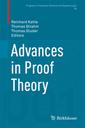 Couverture de l'ouvrage Advances in Proof Theory