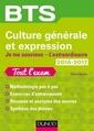 Couverture de l'ouvrage Culture générale et Expression 2016/2017