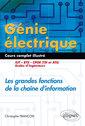Couverture de l'ouvrage Génie électrique. Cours complet illustré