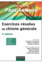 Couverture de l'ouvrage Exercices résolus de chimie générale