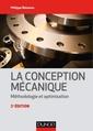 Couverture de l'ouvrage La conception mécanique