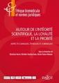 Couverture de l'ouvrage Autour de l'ingrité scientifique, la loyaté et la probité