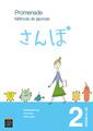 Couverture de l'ouvrage Promenade. Méthode de japonais - Volume 2